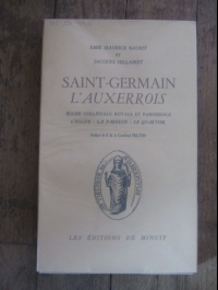 BAURIT  HILLAIRET / SAINT-GERMAIN L'AUXERROIS / éditions de minuit 1955