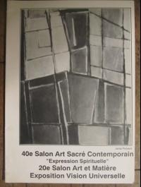 40  ème SALON ART SACRE EXPRESSION SPIRITUELLE   1993