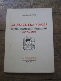 René-louis DOYON / LA PLACE DES VOSGES / LA CONNAISSANCE  1952