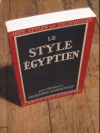 NOBLECOURT / LE STYLE EGYPTIEN / ARTS - STYLES ET TECHNIQUES 1946