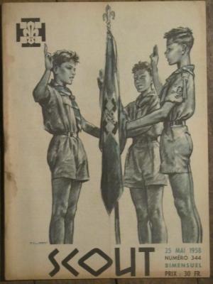 SCOUT  BIMENSUEL              N° 344   MAI 1958