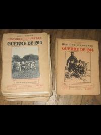 HANOTAUX HISTOIRE ILLUSTRE GUERRE DE 14   85 FASCICULES