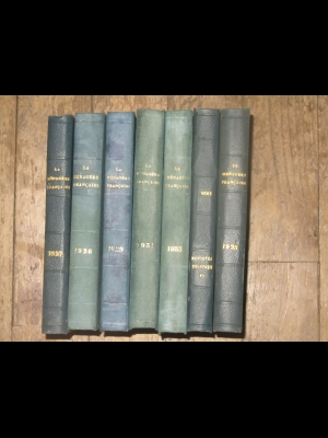 La ménagère Française  1931  revue d'économie domestique  1 volume 480 pages