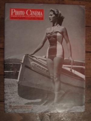 REVUE PHOTO CINEMA  aout 1953  / EDITION PAUL MONTEL