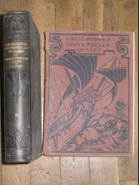 GEOGRAPHIE UNIVERSELLE QUILLET 2 VOLUMES
