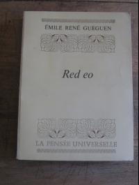 GUEGUEN Emile rené / RED EO / LA PENSEE UNIVERSELLE 1979