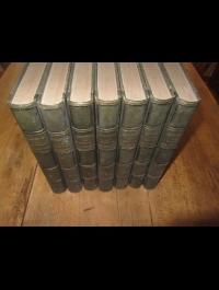 LAMARTINE / HISTOIRE DES GIRONDINS / FURNE  1847 / 7 VOL/8