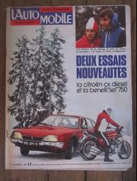 L'AUTOMOBILE  N° 355 JANVIER 1976  CX DIESEL  SALON DE TOKYO