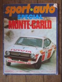 SPORT AUTO  N° 1  JANVIER 1978  SPECIAL MONTE CARLO
