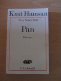 HAMSUN Knut / PAN d'après les papiers du lieutenant Thoas Glahn / P.J. OSWALD 1972