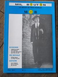 MIL BOUTON La revue du pays Pourleth N°1  1993