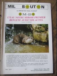 MIL BOUTON La revue du pays Pourleth N°5  1994