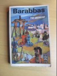LAGERKVIST / BARABBAS / LE LIVRE DE POCHE 874  / 1962