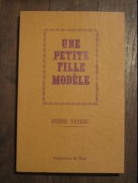 pierre TAYLOU Une petite fille modèle  PARIS  1969  érotica