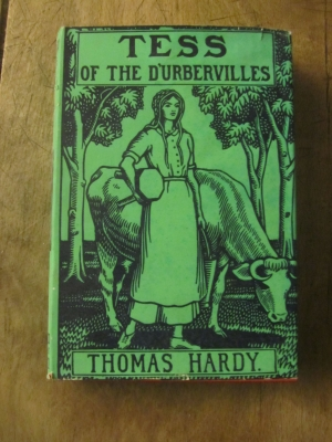 THOMAS HARDY / TESS OF THE D'UBERVILLES  A PURE WOMAN / MACMILLAN 1937