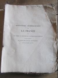 """bibliographie historique et archeologique du departement de la seine"""" inférieur  abbé cochet  1871"""