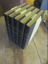 DU BELLAY / POESIES / RELIE ILLUSTRE / 5 VOLUMES  RICHELIEU 1955