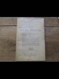 La revue blanche   Janvier 1901  N° 182