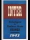 INTER / CATALOGUE DE TIMBRES-POSTE  FRANCE  1943