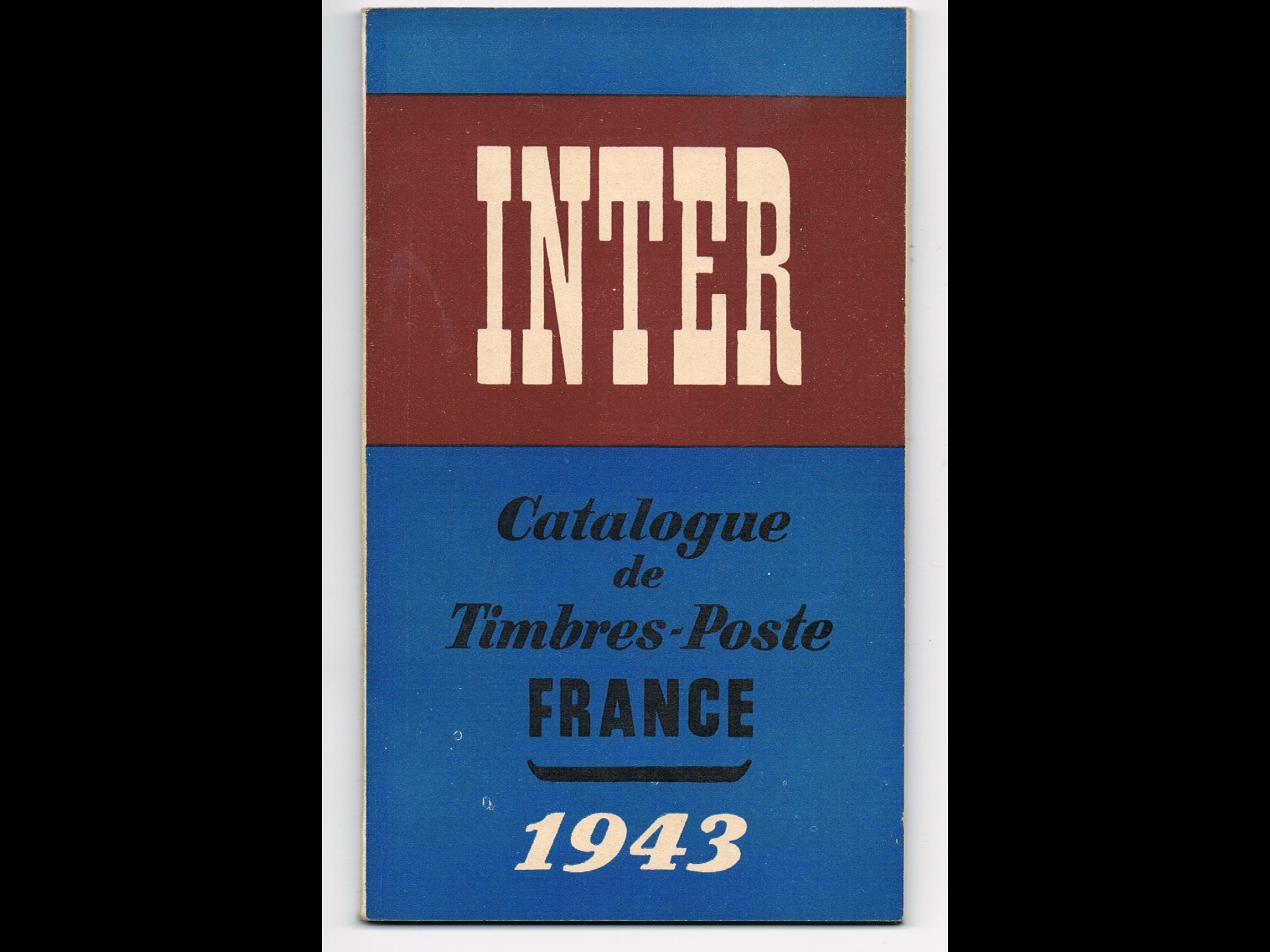 inter catalogue de timbres poste france 1943. Black Bedroom Furniture Sets. Home Design Ideas
