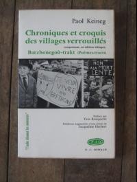 KEINEG PAOL / CHRONIQUES ET CROQUIS DES VILLAGES VERROUILLES / OSWALD 1971