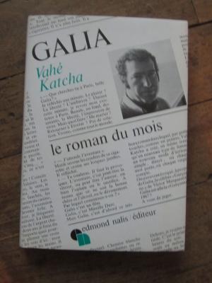 KATCHA Vahe / GALIA / Edmond NALIS éditeur 1967