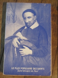 LIONNET Max / LE PLUS POPULAIRE DES SAINTS saint vincent de paul 1954