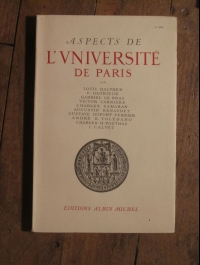 COLLECTIF / ASPECTS DE L'UNIVERSITE DE PARIS / ALBIN MICHEL 1949