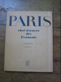 COLLECTIF / PARIS - CHEF-D'OEUVRE DES FRANCAIS / LLF 1945