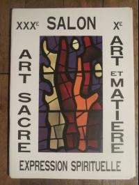 XXX ème SALON ART SACRE EXPRESSION SPIRITUELLE 1982