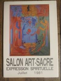 XXIX ème SALON ART SACRE EXPRESSION SPIRITUELLE 1981