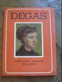 Marguerite REBATET / DEGAS / BIBLIOTHEQUE FRANCAISE DES ARTS 1944