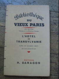 Leo MOUTON / L'HOTEL DE TRANSYLVANIE / H. DARAGON 1907 EO sur alfa vergé