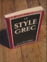 DEVAMBEZ / LE STYLE GREC / ARTS - STYLES ET TECHNIQUES 1944