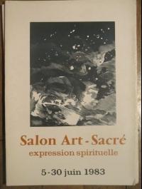 XXXI ème SALON ART SACRE EXPRESSION SPIRITUELLE 1983