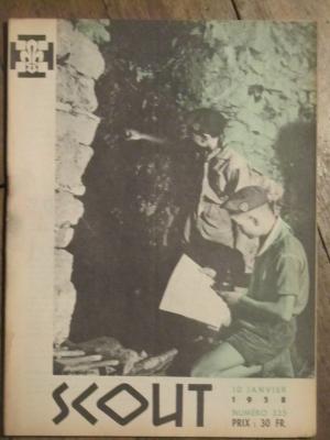 SCOUT N° 335 janvier 1958