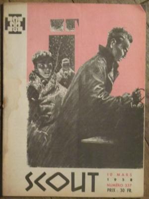 SCOUT N° 337 MARS 1958
