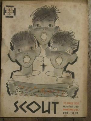 SCOUT N° 340 MARS 1958