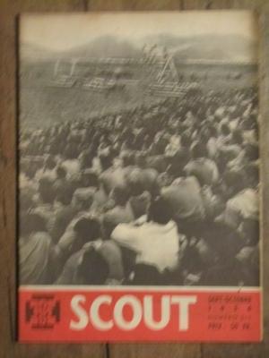 SCOUT BIMENSUEL N° 315 Septembre - octobre 1956