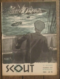 SCOUT BIMENSUEL N° 350 novembre 1958