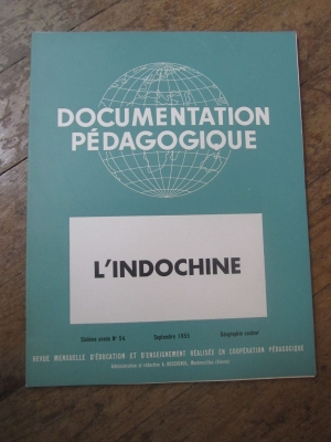 LA DOCUMENTATION PEDAGOGIQUE / PARIS L'AIR D'UNE CAPITALE / PHOTOS 1955
