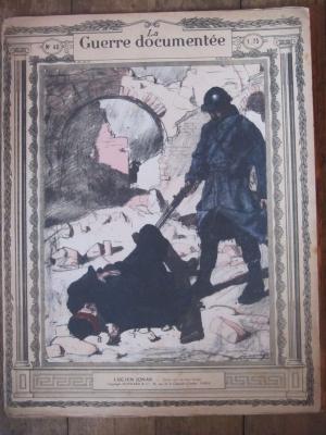 LA GUERRE DOCUMENTEE la guerre et les artistes N° 40