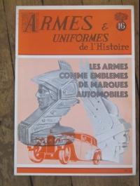 ARMES ET UNIFORMES DE L' HISTOIRE N° 16 1973