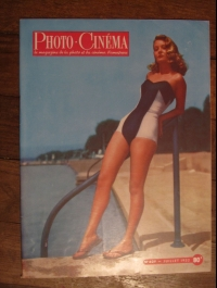 REVUE PHOTO CINEMA juillet 1952 / EDITION PAUL MONTEL