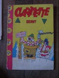 CLARINETTE GEANT 1962 / EDITION DES REMPARTS