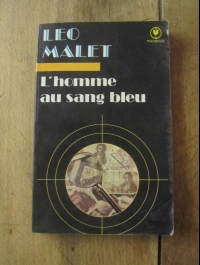 MALET LEO / L'HOMME AU SANG BLEU /  NESTOR BURMA / MARABOUT 1058 /  1977
