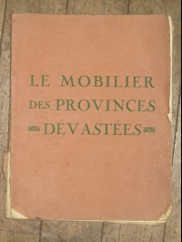 LE MOBILIER DES PROVINCES DEVATEES VAILLAT 1922