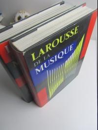 LAROUSSE DE LA MUSIQUE / ENCYCLOPEDIE 2 VOLUMES / DUFOURCQ 1957