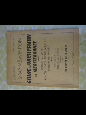 GUIDE DU YACHTSMAN EN MEDITERRANEE BALEARES Bourdeaux 1964
