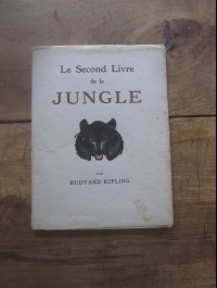 ILLUSTRATIONS POUR LE LIVRE DE LA JUNGLE 1936 DELUERMOZ